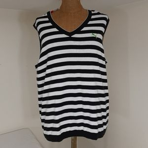 Puma stripe sweater vest new with tags